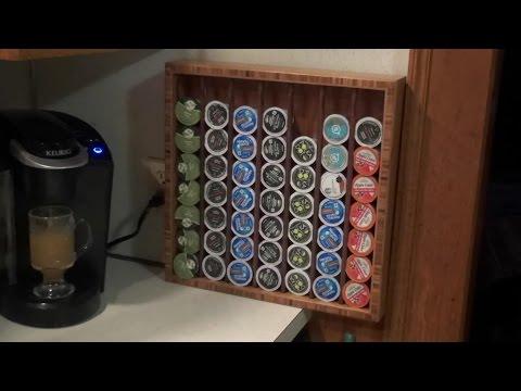 Making a K-Cup Dispenser