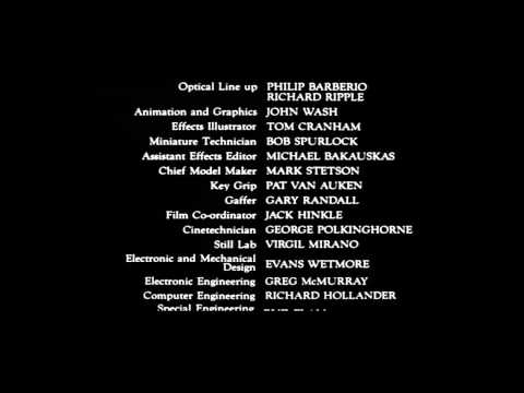 Blade Runner  Full End Titles End Credits Cast & Crew