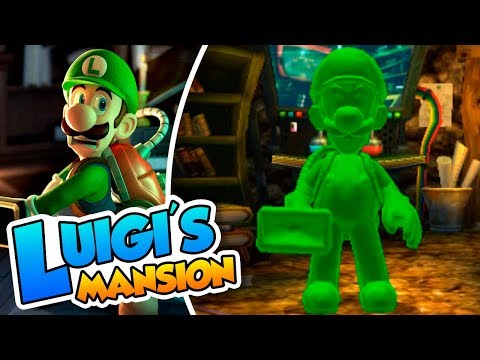 ¡Gomiluigi al ataque! - #01 - Luigi's Mansion Coop (3DS) Nai
