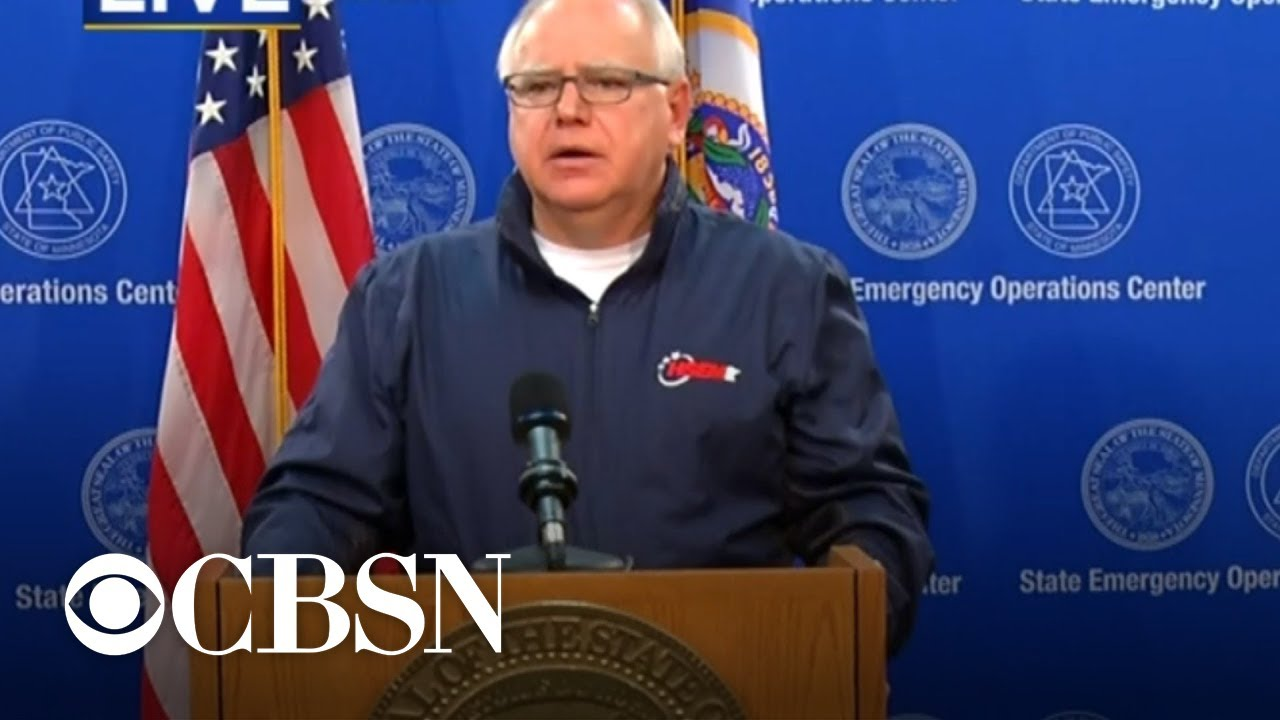 Minnesota Governor Tim Walz says majority of protesters are from out of state