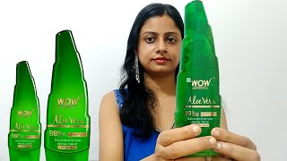 WOW Skin Science Aloe Vera Review, Uses & Demo - Multipurpose Beauty Gel For Skin And Hair