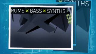 Dark Neuro Drum Bass - Royalty Free Drums Bass' Synths