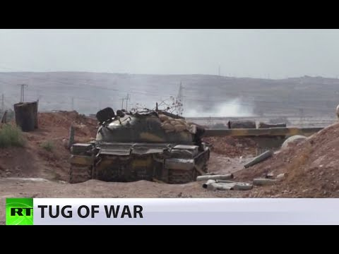 Aleppo tug-of-war: Rebel supply lines cut following clashes over military colleges