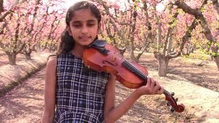 Chinna Chinna aasai violin cover by Shreya A R RAHMAN SONG VIOLIN BOLLYWOOD  INDIAN SONG VIOLIN