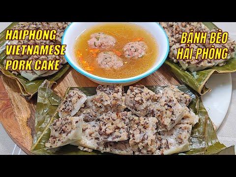 Bánh Bèo Hải Phòng – Hai Phong Vietnamese Pork Cake ASMR [Subtitles] HNC Kitchen
