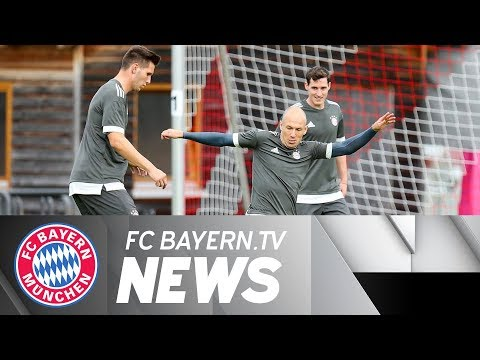 FC Bayern prepare to face RSC Anderlecht as Champions League kicks off