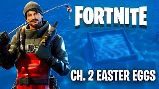 10 FORTNITE Chapter 2 Easter Eggs   The Countdown
