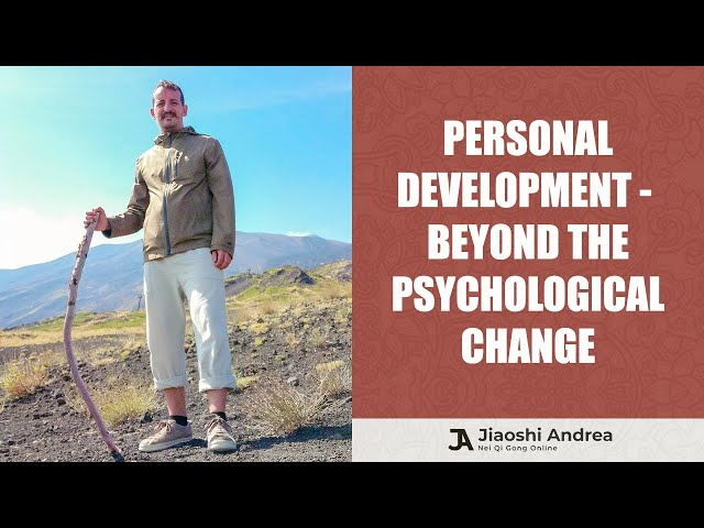 Personal development: beyond the psychological change
