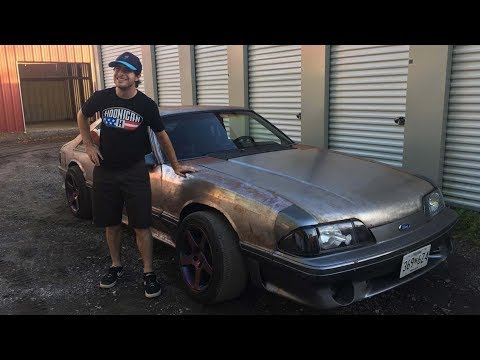 ALMOST CRASHING This Death Trap Drift Fox Body Mustang!