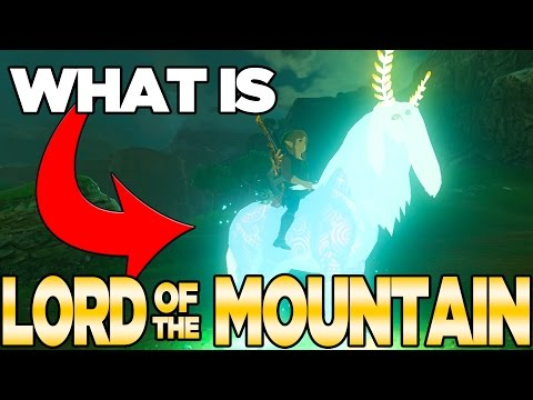 What is Lord of The Mountain - Breath of the Wild Theory   Austin John Plays