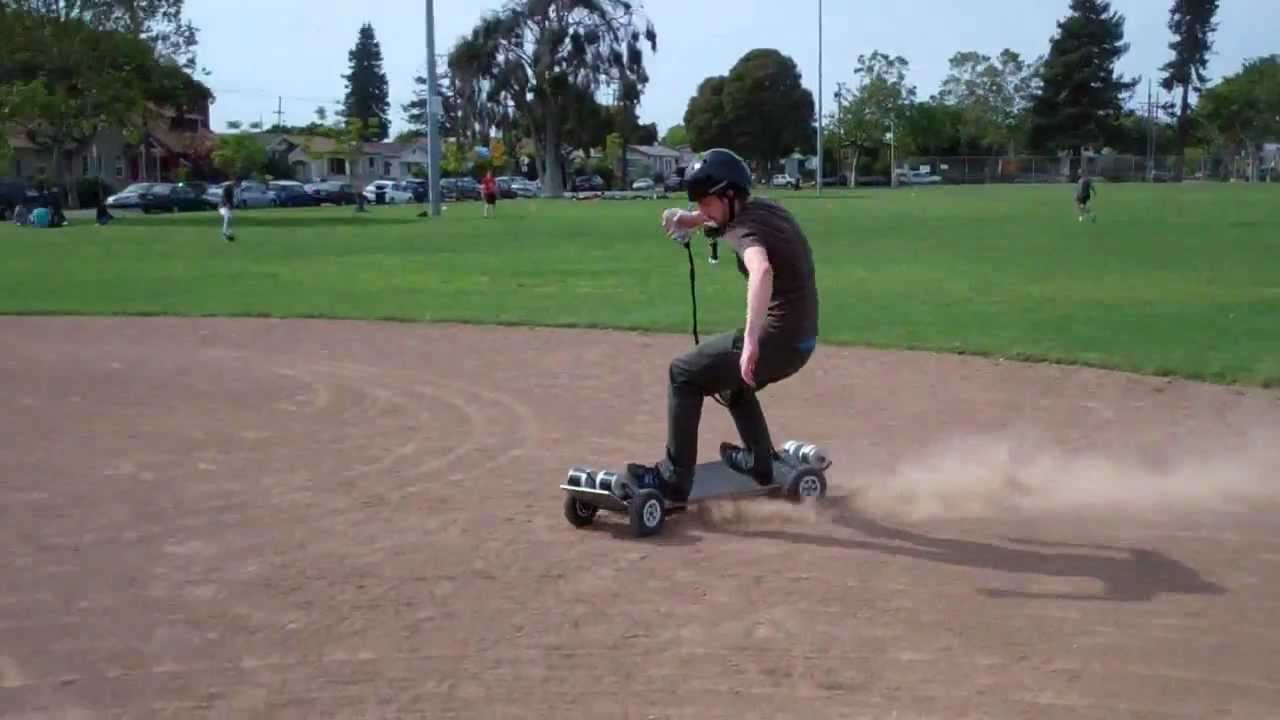 4WD Electric Skateboard  YouTube