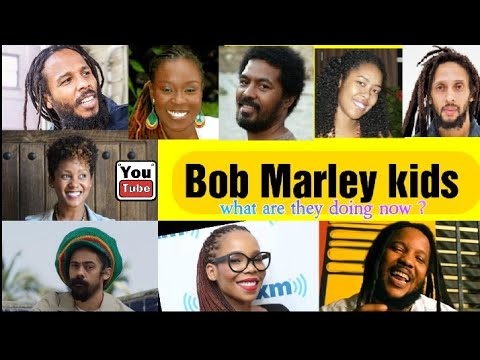 BOB MARLEY'S Children 2021 | what are they doing now ? | how many kids did BOB MARLEY really ha