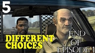 "The Walking Dead Episode 1 - [Different Choices] - Part 5 ""Time to Run"""