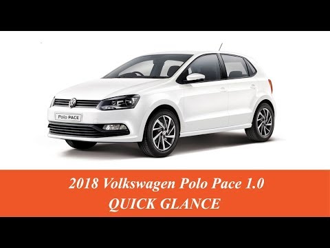 New 2018 Volkswagen Polo 1.0 acceleration