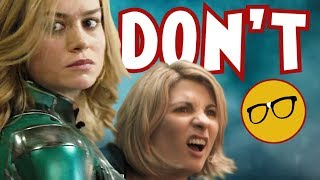 Captain Marvel The MCU Doctor Who?