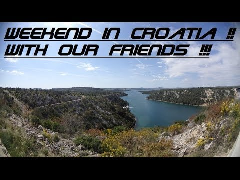 Our friends invited us to Croatia for the weekend (small offtop video) // Sailing Solen