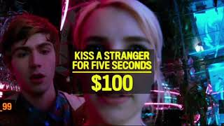 Первое задание: Поцеловать незнакомца ... отрывок из фильма (Нерв/Nerve)2016