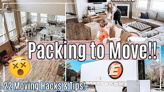 📦 WE'RE MOVING!! PACK WITH ME 2021 :: 22 of my BEST MOVING HACKS & TIPS + PACKING TIPS