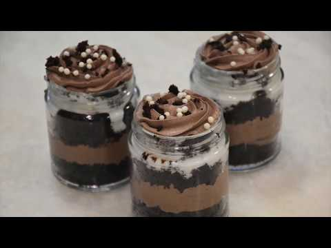 3 Fast and simple Mason Jar Desserts
