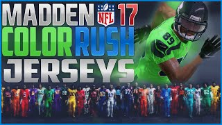 Madden NFL Top 10 Color Rush Jerseys