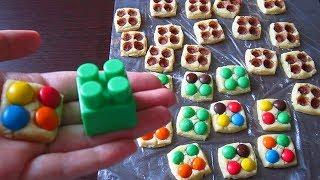 Печенье - ЛЕГО / Классная забава для детей