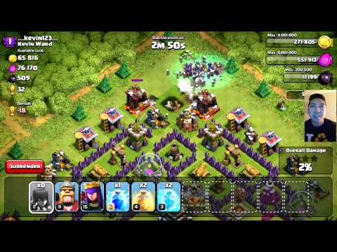 ALL ''EVIL'' WITCHES 20X | Clash Of Clans | 3-STAR MAX LEVEL