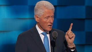 Bill Clinton FULL Speech at Democratic Convention