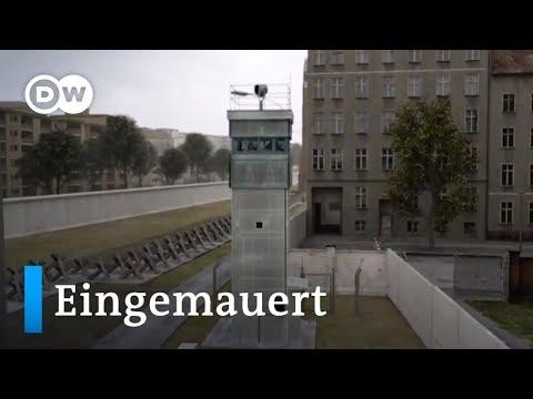 Eingemauert Die Innerdeutsche Grenze Dw Deutsch Youtube