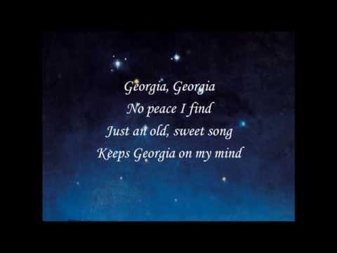 Willie Nelson-Georgia On My Mind (with Lyrics)