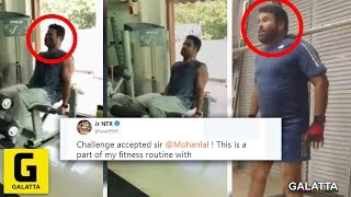 Jr NTR's Green Signal To Mohanlal's Challenge | Fitness Challenge | #HumFitTohIndiaFit