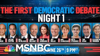 Democratic Debate Hights Are Set. Who Will Be Where & Why It Will Matter. | Deadline | MSNBC