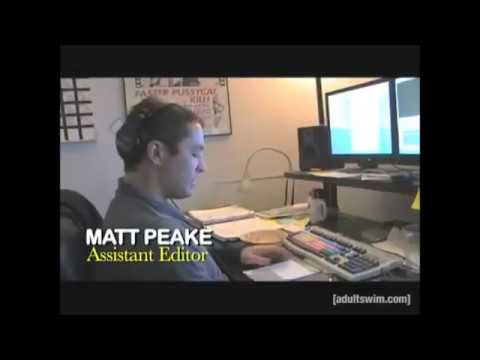 Matt Peake Working On Robot Chicken