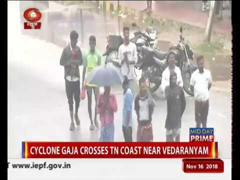Tamil Nadu: 11 dead after cyclone Gaja makes landfall
