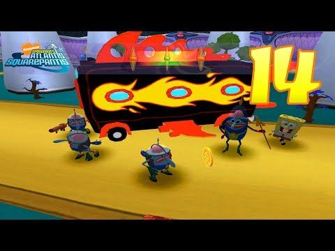 SpongeBob's Atlantis SquarePantis [4K] - Level 14 (Operation: Trash Dash!)