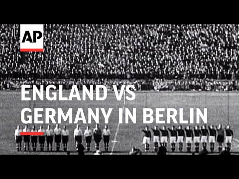 England v. Germany Football Match in Berlin 1938