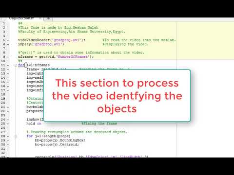 Image Processing | Object Tracking in a video using MATLAB