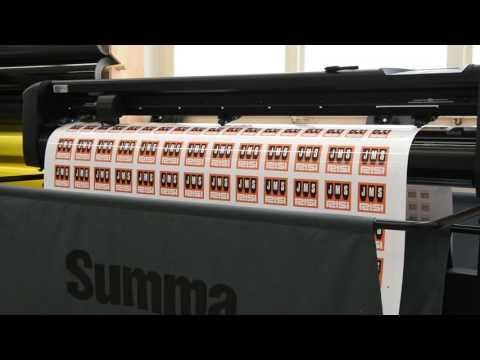 Digitaldruck Aufkleber / Print / Cut Stickers / Plot / Die Druckerei in Zürich