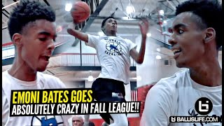 Emoni Bates Goes ABSOLUTELY NUTS In Fall League Game!! Scoring Game is NEXT LEVEL!!