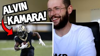 Rugby Player Reacts to ALVIN KAMARA 2017 NFL Rookie Of The Year!