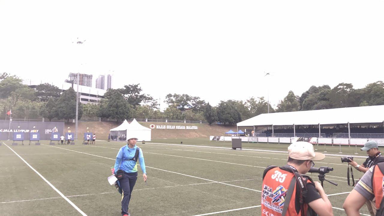 Bắn cung chuẩn bị giành HCV SEA Games 29 đầu tiên cho thể thao Việt Nam