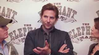 Backstage on Broadway: Bradley Cooper transforms into 'The Elephant Man'