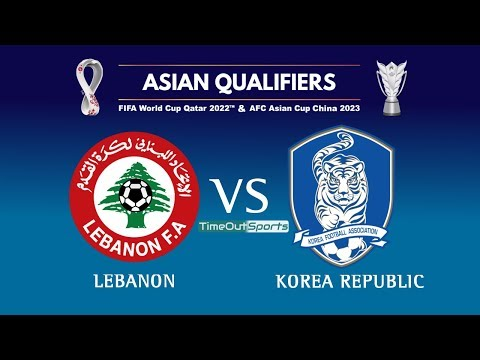 Lebanon Vs Korea Republic Full Highlights | FIFA World Cup 2022/AFC Asian Cup 2023 Joint Qualifiers
