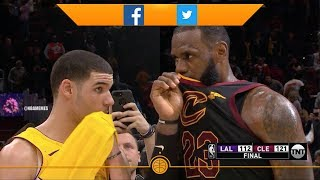 What Did LeBron James Say to Lonzo Ball (NBA Memes of the Week)