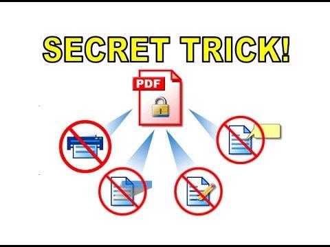ProteksiPDF #SecurePDF #ExchangePDF Cara Proteksi File PDF agar Tidak Bisa di Copy dan Tidak Bisa di.