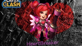 Castle Clash Heartbreaker double evolved 200 10/10 ? or keep her 9/10?  Gameplay