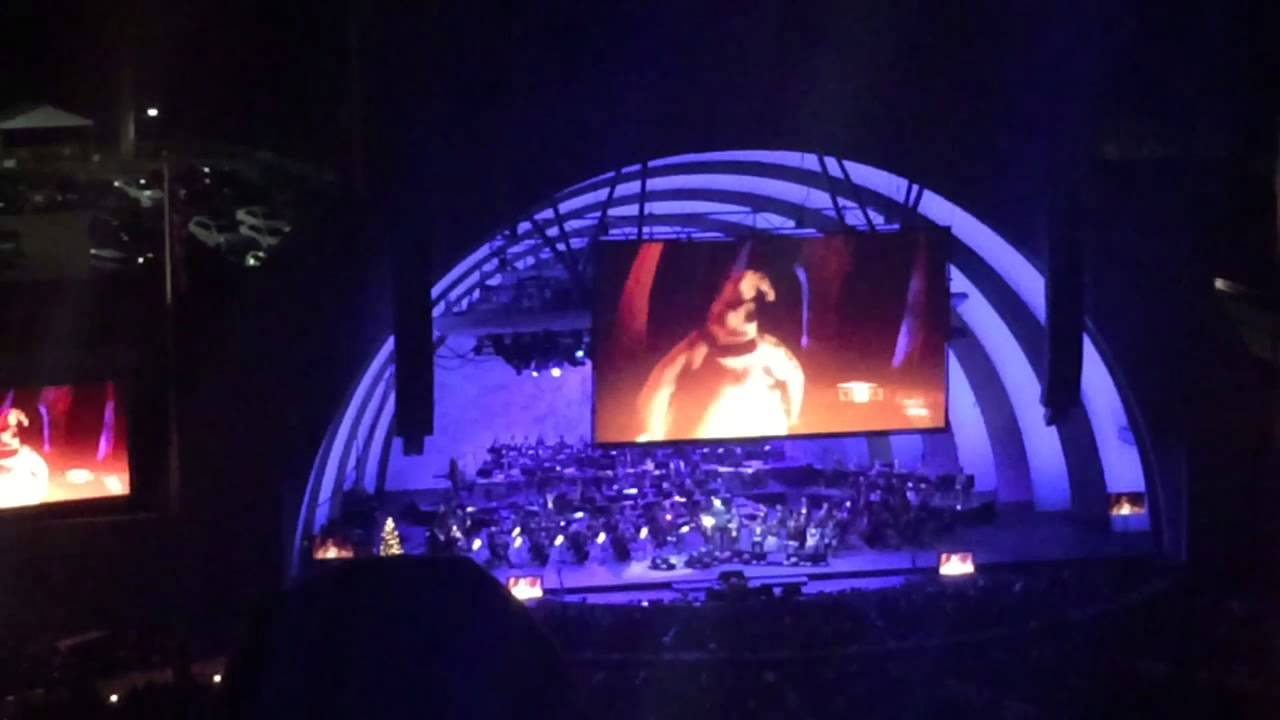 Nightmare Before Christmas at the Hollywood Bowl part 2 - YouTube