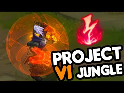 PROJECT VI NEW SKIN - How to Play Vi Jungle in (Pre)Season 8 // League of Legends