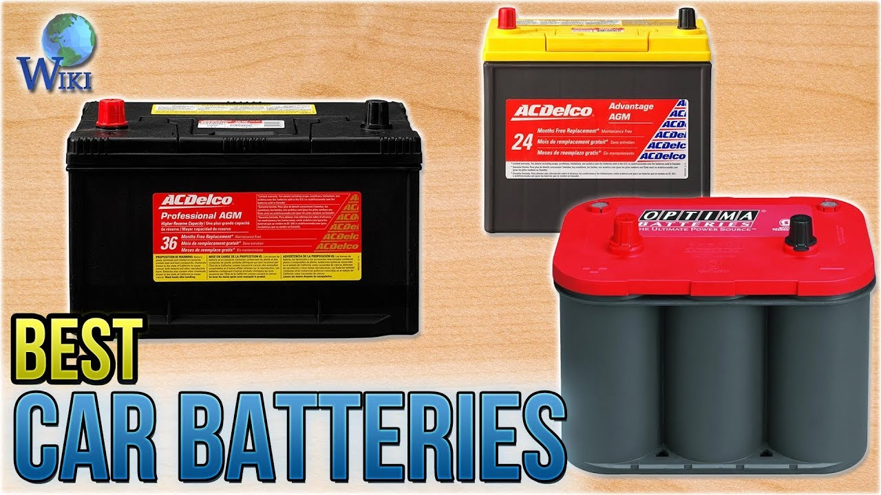 7 Best Car Batteries 2018