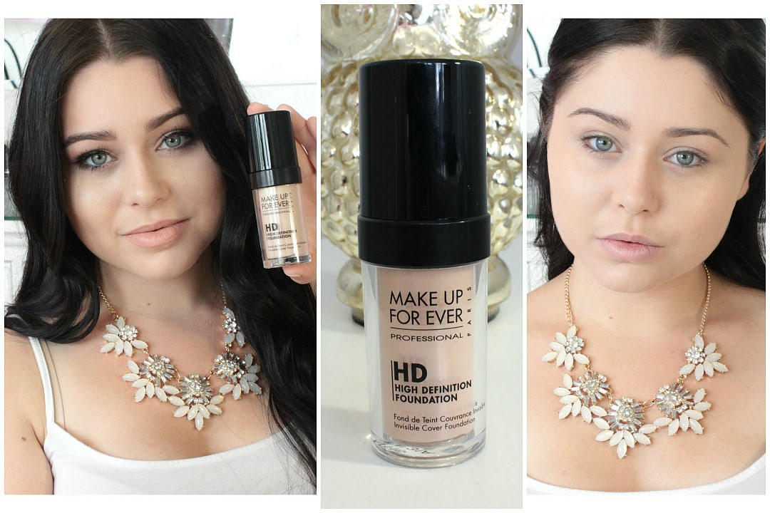 First Impression & Review: Make Up Forever HD Foundation ...