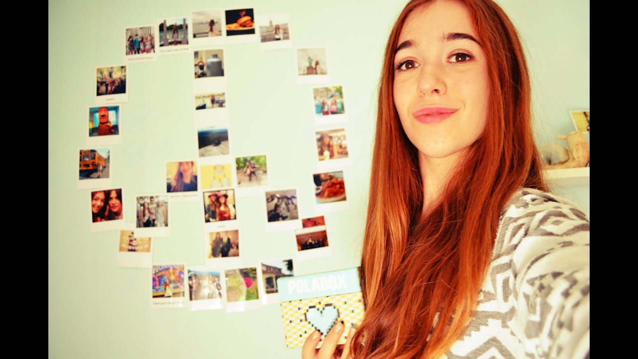 Diy 3 ideas para decorar tu cuarto con fotos youtube for Para adornar fotos